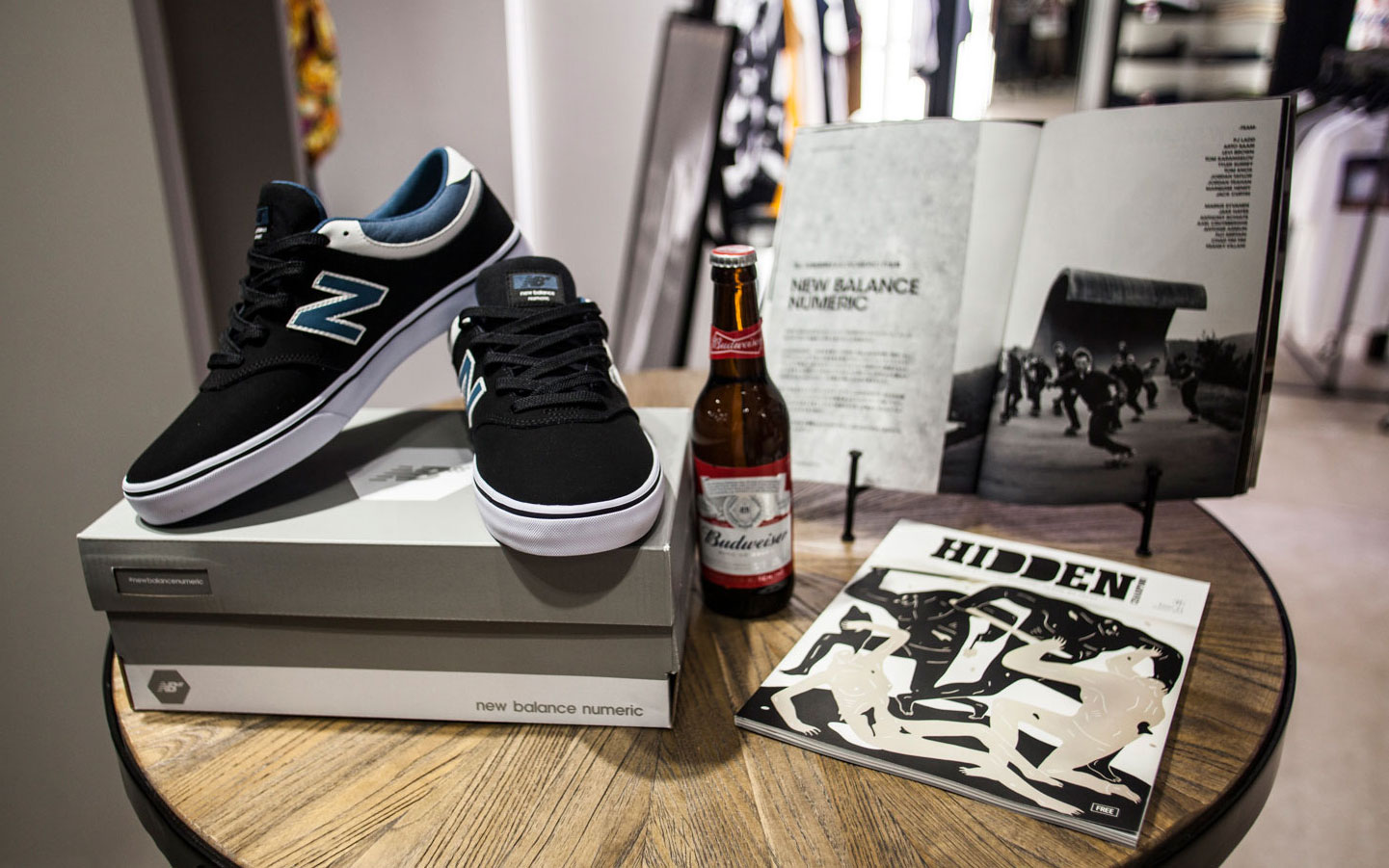 new balance numeric Launch Party at MORTAR