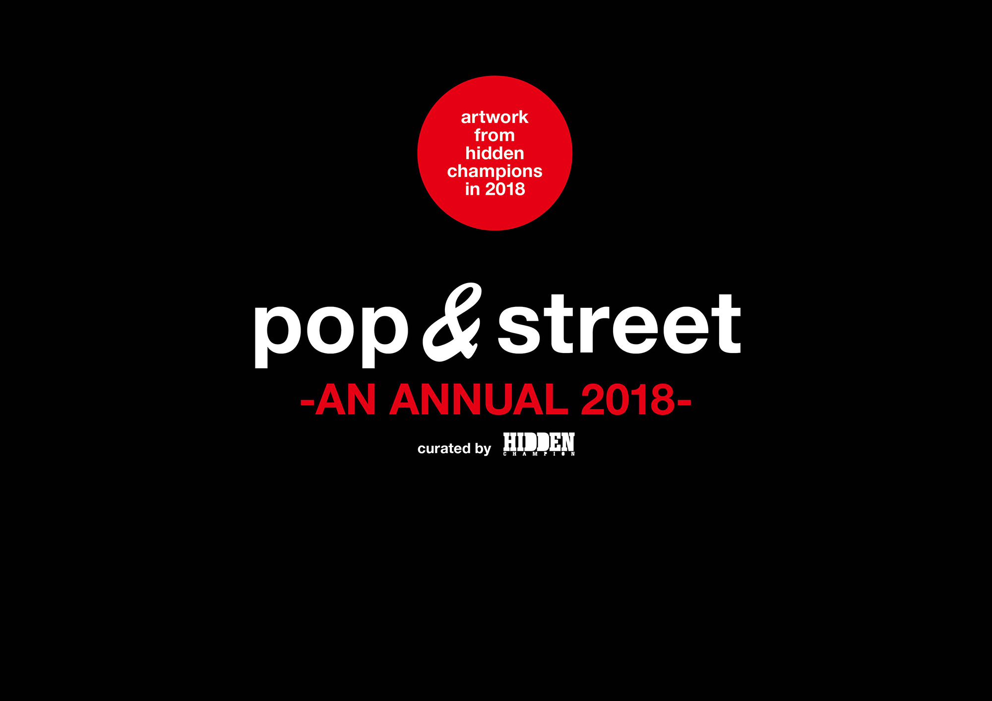 pop & street -AN ANNUAL 2018-
